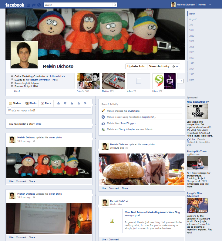 What's Your View on Facebook Timeline?